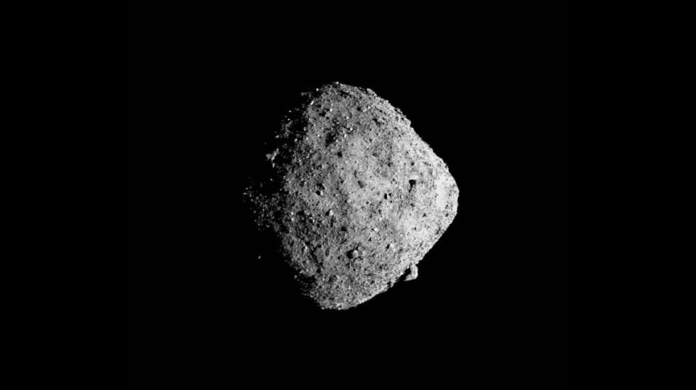 NASA capta imagen a solo 13 kilómetros del asteroide Bennu - Foto de NASA