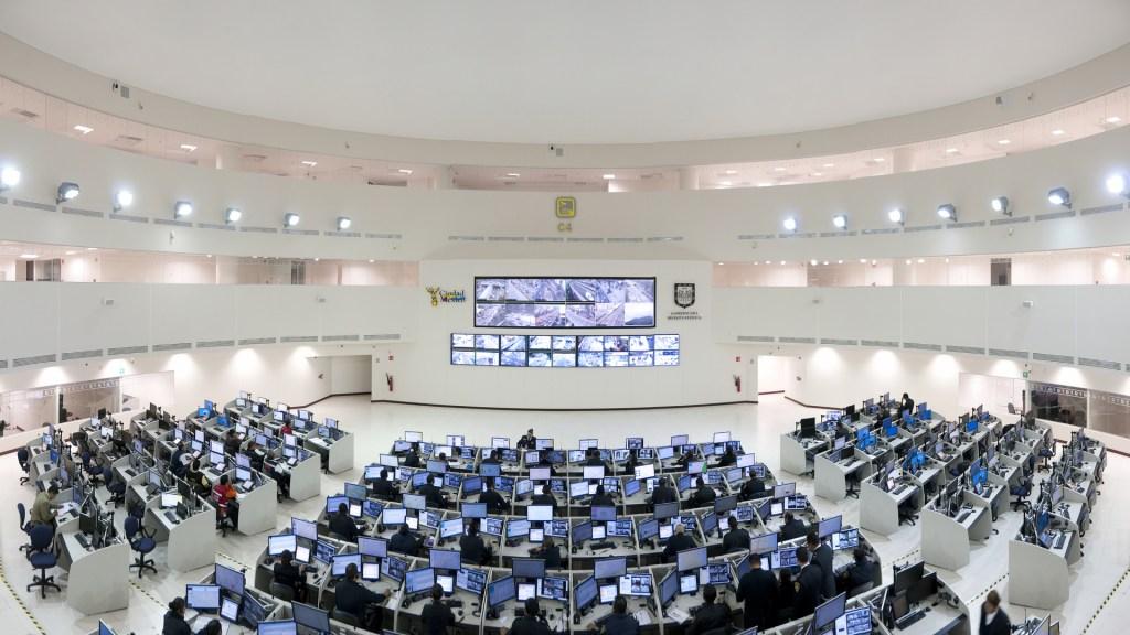 Cámaras del C5 vigilarán la CDMX en resolución 4K - C4 de la Ciudad de México. Foto de CAEPCCM