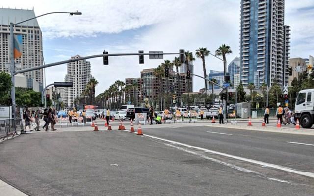 Se dispara número de muertos por atropello en San Diego - Calle de San Diego. Foto de @CityofSanDiego