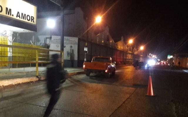 Reportan presunta amenaza de bomba en la refinería de Salamanca - camioneta bomba refinería salamanca