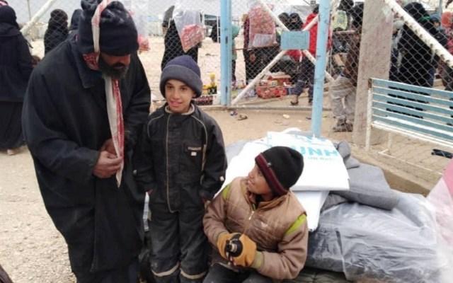 Mueren 29 niños de frío en campamento de refugiados de Siria - Campamento de refugiados en Al Hol, Siria. Foto de ACNUR