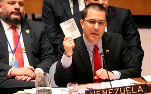Venezuela rechaza ultimátum de países europeos sobre elección - Foto de @CancilleriaVE