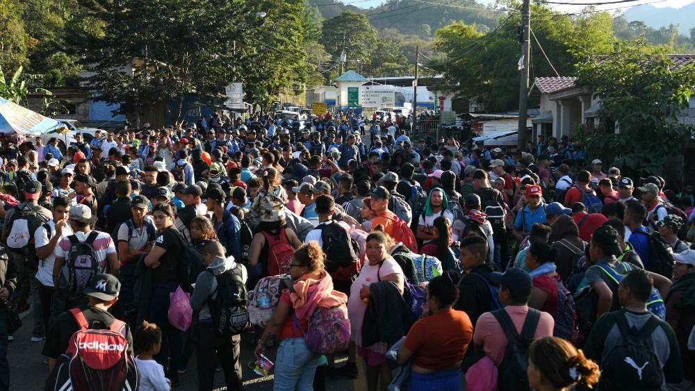 Cómo se genera una caravana migrante - como se forman las caravanas migrantes