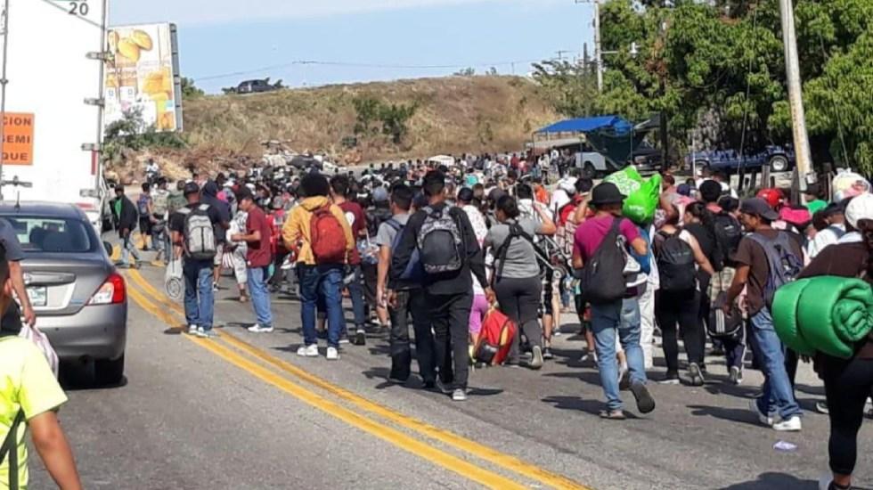 Cuarta caravana migrante inicia su viaje hacia Estados Unidos - cuarta caravana migrante sale hacia ee.uu.