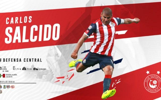 Carlos Salcido, nuevo jugador de los Tiburones Rojos - Carlos Salcido nuevo refuerzo de Veracruz