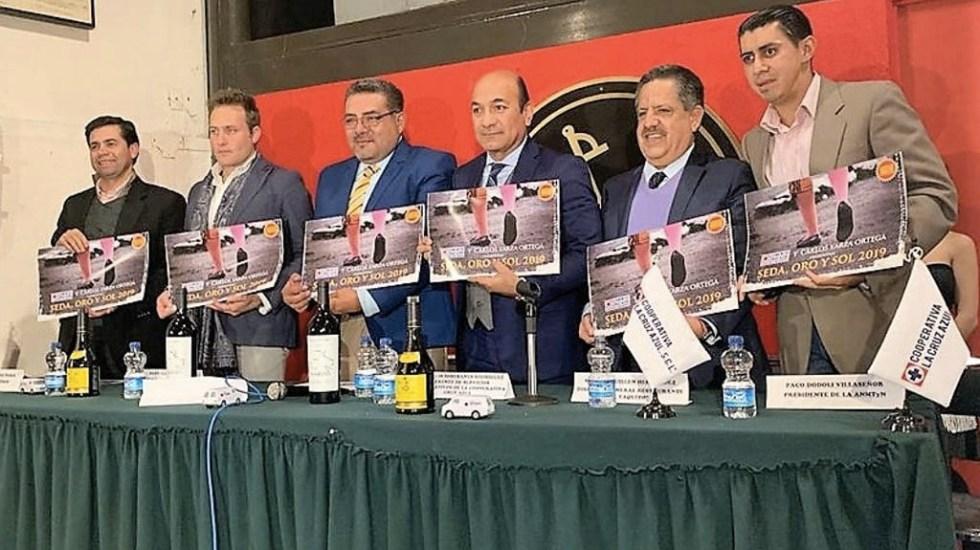 Carlos Yarza presenta calendario taurino 'Seda, Oro y Sol 2019' - Foto de @yarzajuncal