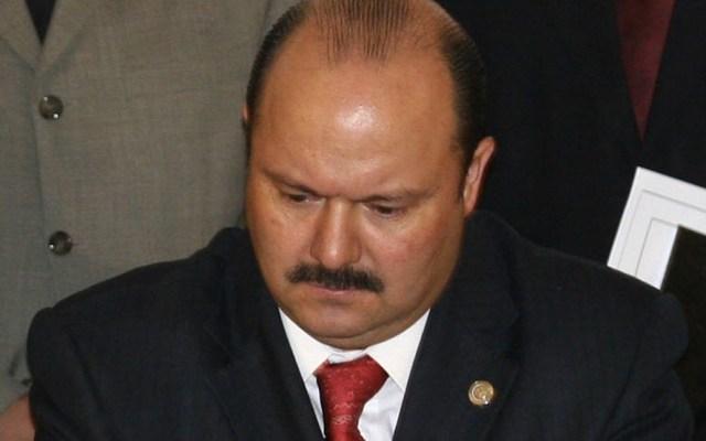 TEPJF confirma expulsión de César Duarte del PRI - César Duarte orden de aprehensión consejo de la judicatura