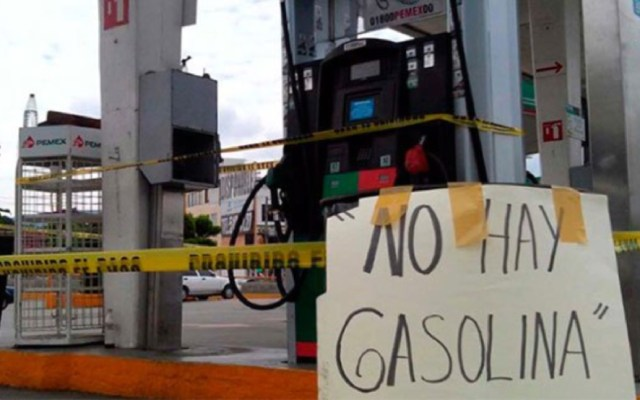 CNDH emite recomendación por desabasto de combustible - La CNDH emite recomendación por desabasto de combustible
