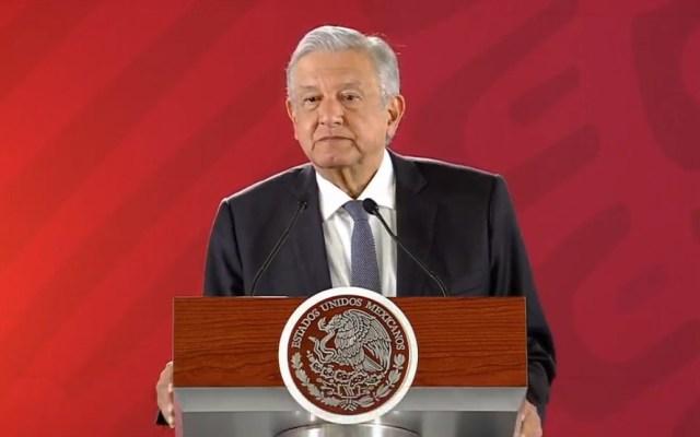 "López Obrador ""respeta"" opinión de Trump sobre México - Conferencia de AMLO 31 de enero. Captura de pantalla"