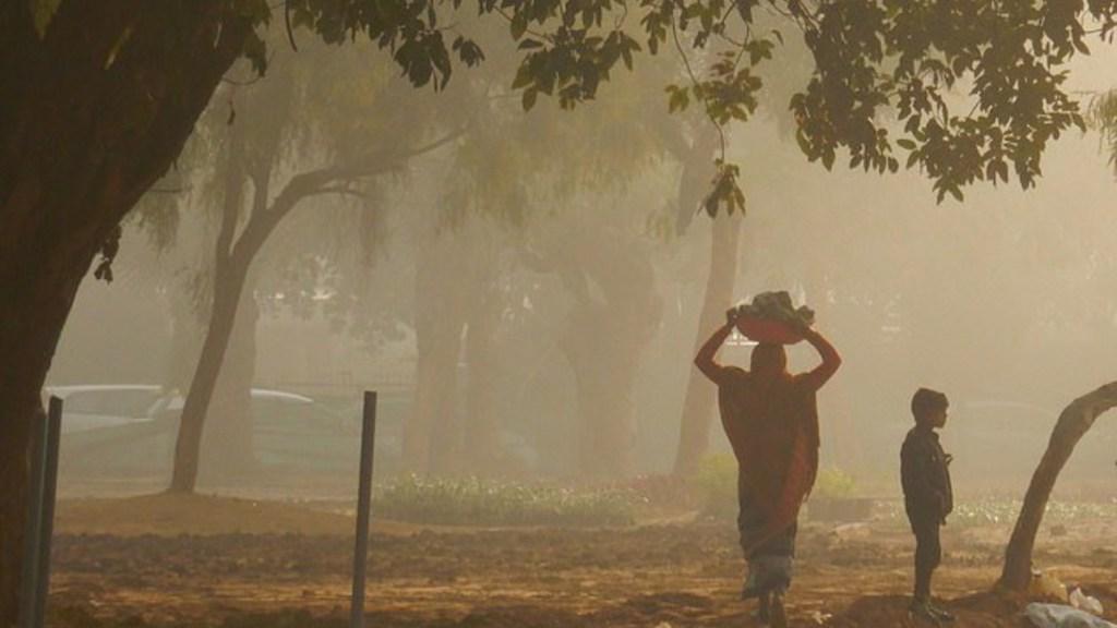 Niebla de contaminación afecta el turismo en Nueva Delhi - contaminación provoca el desplome de turismo en india