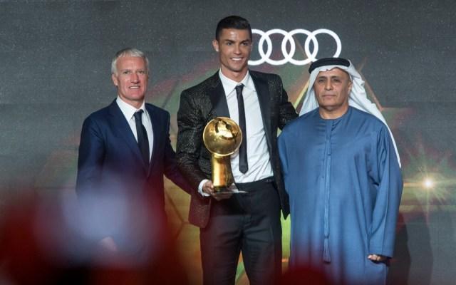 Cristiano Ronaldo gana el Globe Soccer Award a mejor jugador - Cristiano Ronaldo gana el Globe Soccer Award al mejor jugador de 2018