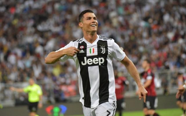 Cristiano Ronaldo da a la Juventus la Supercopa italiana - Foto de AFP