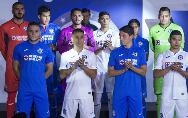 Los nuevos uniformes de Cruz Azul - Foto de Mexsport