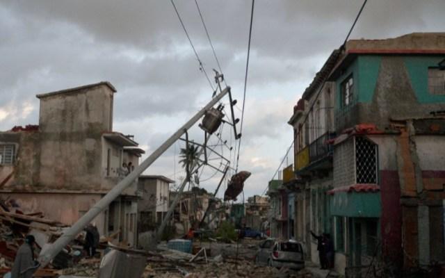 Aumenta a siete la cifra de muertos por tornado en Cuba - Foto de AFP