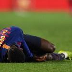 Dembélé causa baja con el Barcelona por esguince de tobillo - Foto de Internet