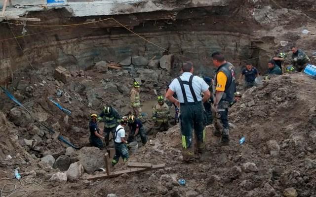 Continúa búsqueda de trabajador en construcción de la GAM - Foto de @alertasurbanas