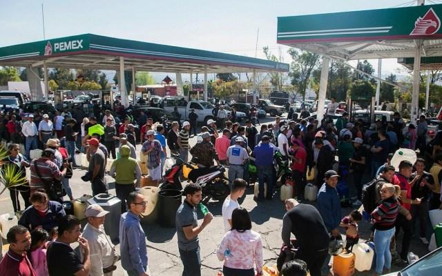 Los estados que padecen desabasto de gasolina - Desabasto Gasolina. Foto de El Universal