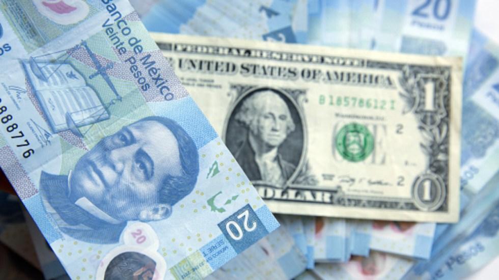 Dólar cierra jornada en 19.32 pesos - cotización dólar pesos