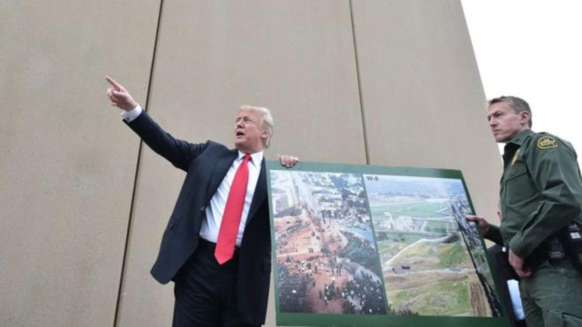México no hace nada para detener caravana migrante — Donald Trump