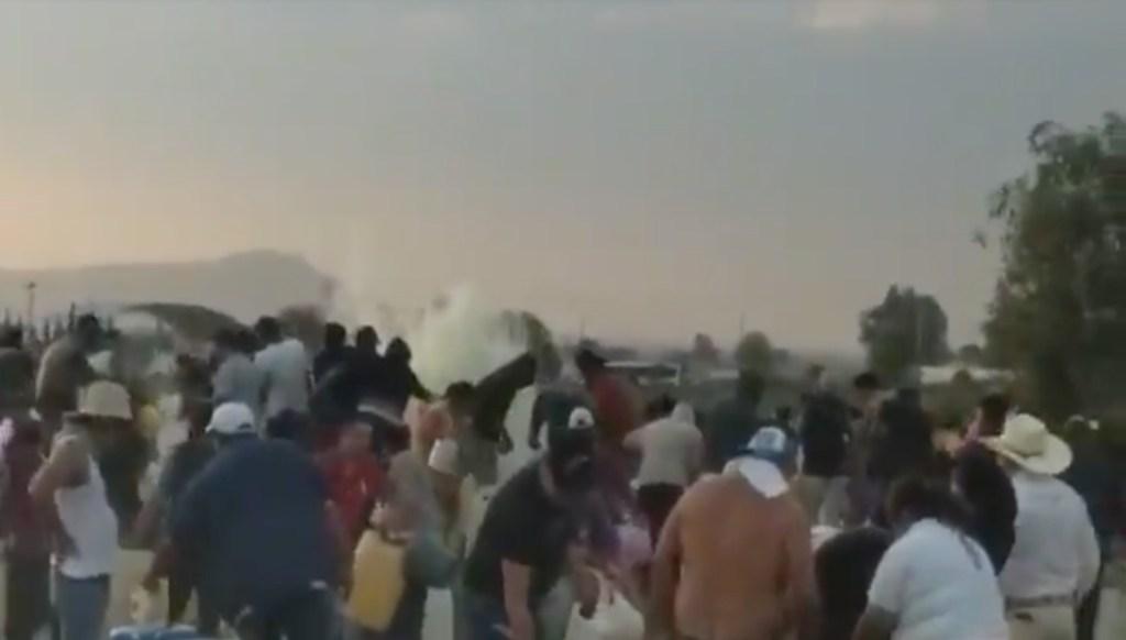 Pobladores jugaban y se mojaban con gasolina en Tlahuelilpan: reportera