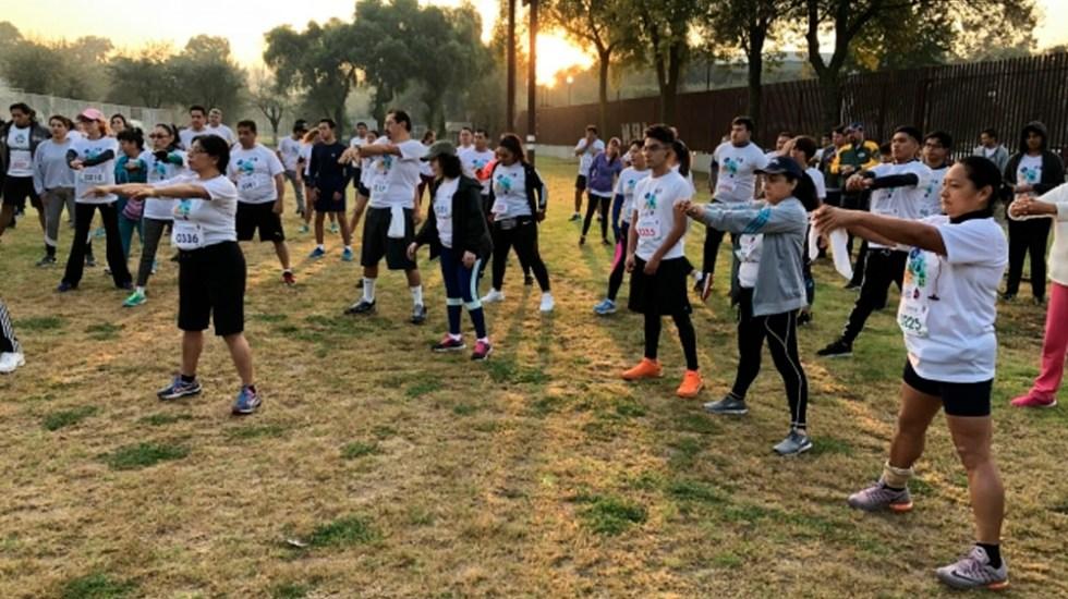 Solo el 41.7 por ciento de los mexicanos realiza ejercicio - Foto de Notimex