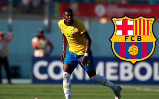 Barcelona confirma al brasileño Emerson, inmediatamente cedido al Betis - Foto de @FCBarcelona_es