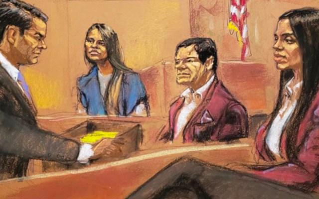 Dámaso López incrimina a Emma Coronel durante juicio contra el 'Chapo' - Foto de EFE
