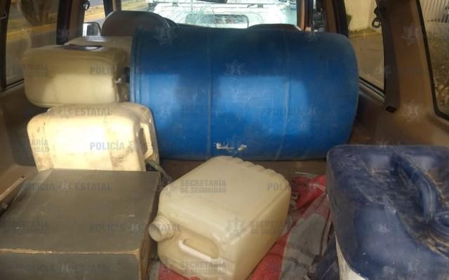 Ladrones de combustibles atacan a policías en Estado de México - Policías se enfrentan a ladrones de combustible estado de méxico