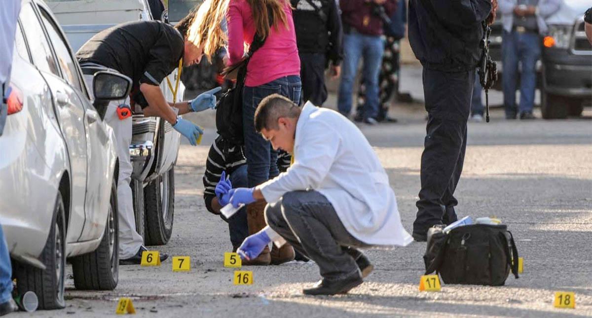 Escena del crimen. Foto de Internet