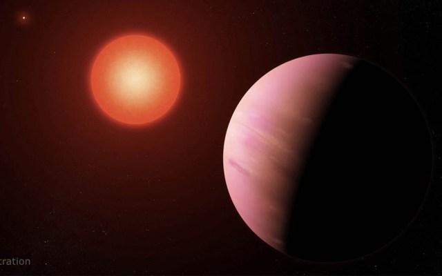 """Hallan posible """"supertierra"""" a  226 años luz de distancia - Ilustración de la NASA"""