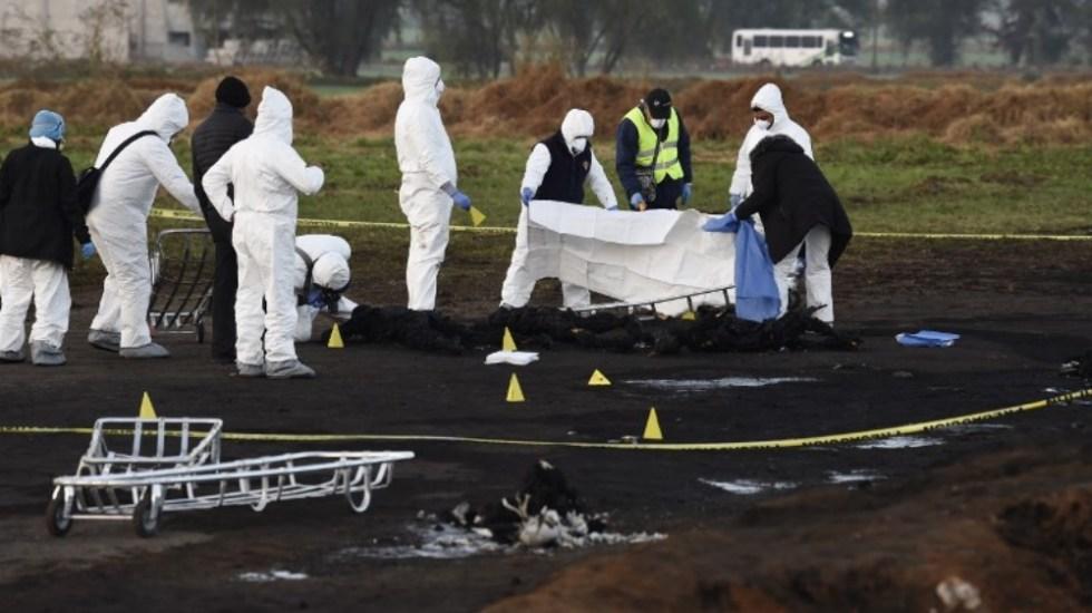 Publican lista de lesionados tras explosión enTlahuelilpan - Foto de Alfredo ESTRELLA / AFP