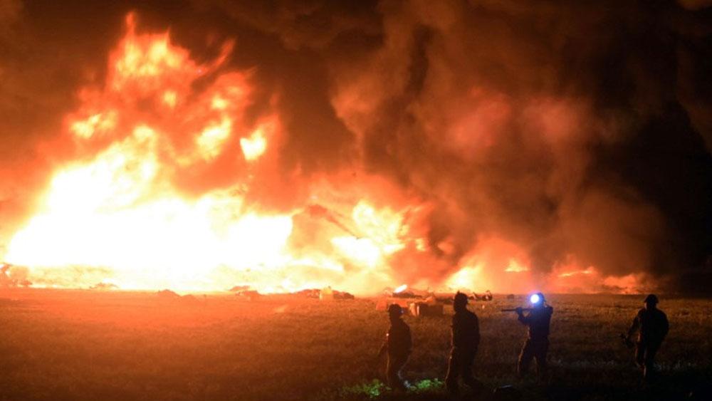 IMSS reporta un muerto más por la explosión en Tlahuelilpan