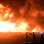 Asciende a 96 cifra de muertos por explosión en Tlahuelilpan - Foto de AFP