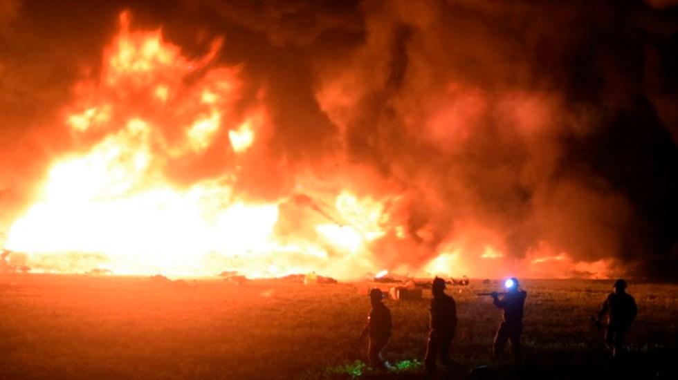 Asciende a 96 cifra de muertos por explosión en Tlahuelilpan - pan denuncia a funcionarios de pemex por explosión en tlahuelilpan