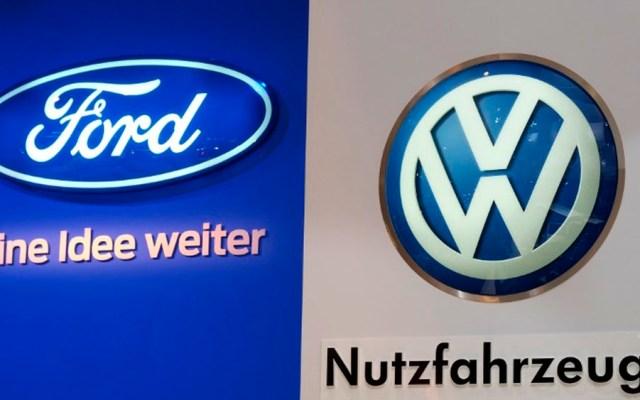 Ford y Volkswagen se unen en sector de vehículos comerciales ligeros - Foto de AFP