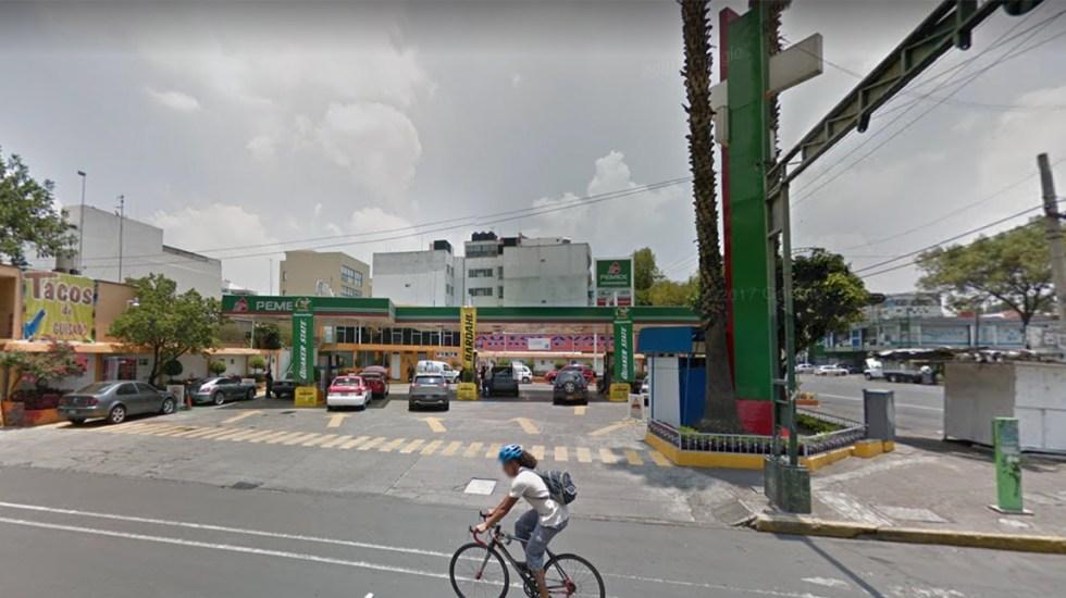 Cierra gasolinera de Iztapalapa por falta de combustible - Foto de Maps