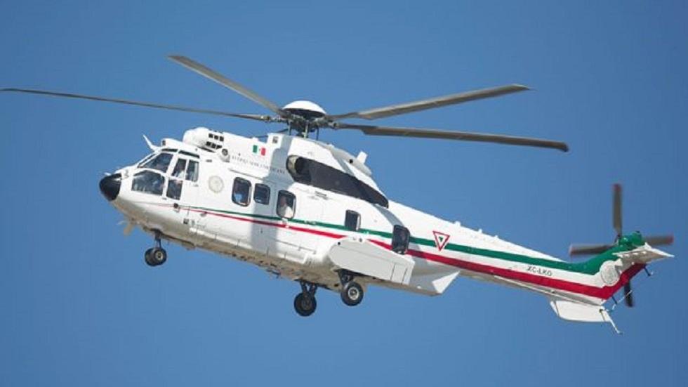 Helicóptero presidencial. Foto de Internet