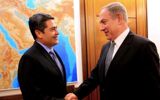 Honduras analiza mover embajada de Tel Aviv a Jerusalén - Foto de Diario La Tribuna