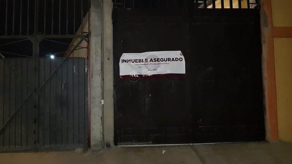 Aseguran armas y droga en inmueble en Tecámac - Foto de Fiscalía Edomex