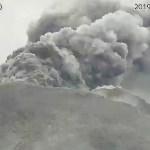 Cenizas alcanzan 6 kilómetros de altura en volcán de Japón - Foto de AFP/Japan Meteorological Agency