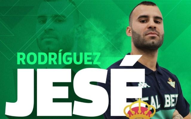 Betis incorpora a sus filas a Jesé Rodríguez - Foto de @RealBetis