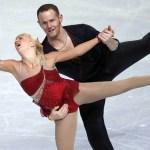 Hallan muerto al exitoso patinador de hielo John Coughlin - John Coughlin patinando con Caydee Denney. Foto de Internet