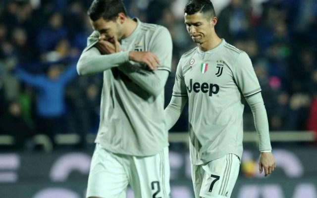 Atalanta elimina a Juventus y CR7 en cuartos de la Copa de Italia - Foto de EFE
