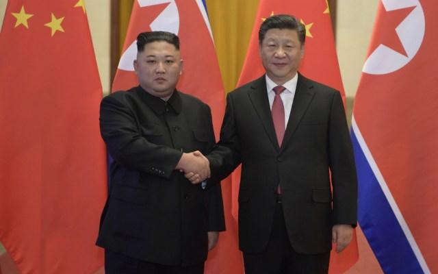 China insta a EE.UU. y Corea del Norte a hallar un punto intermedio - Kim Jong Un Xi Jinping