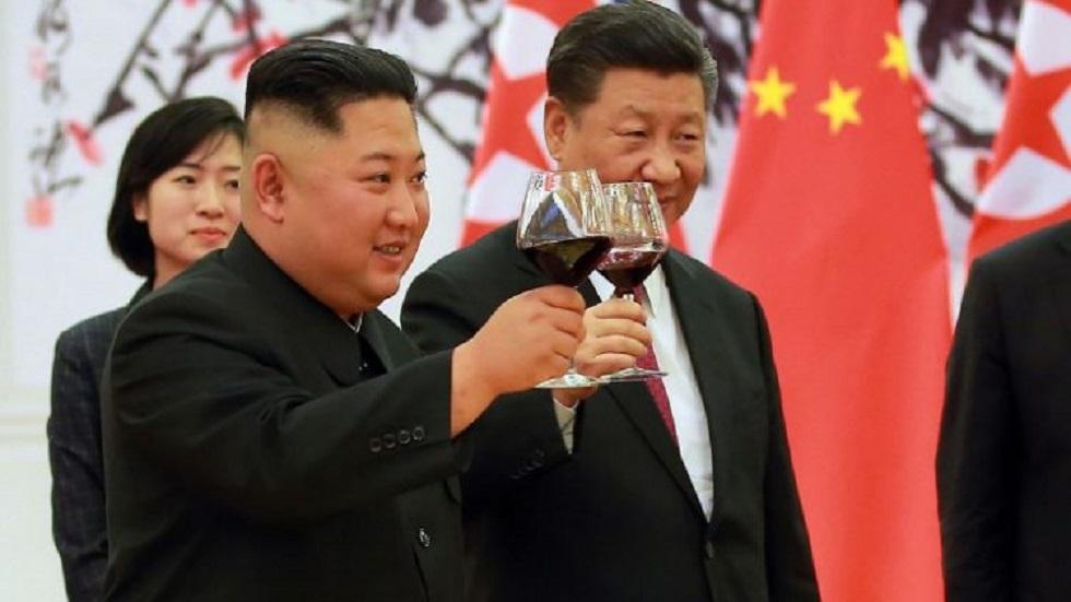 Kim Jong Un y Xi Jinping. Foto de Internet