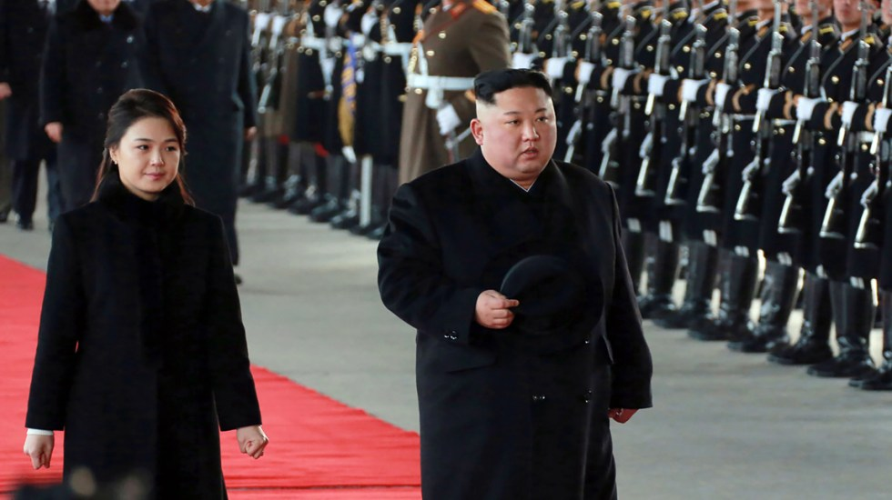 Kim Jong-Un viajó a China - Foto de AFP