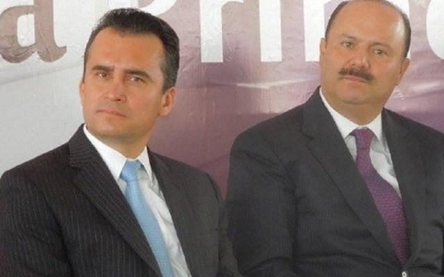 Detienen a ex secretario particular de César Duarte - Marcelo González con César Duarte. Foto de Internet