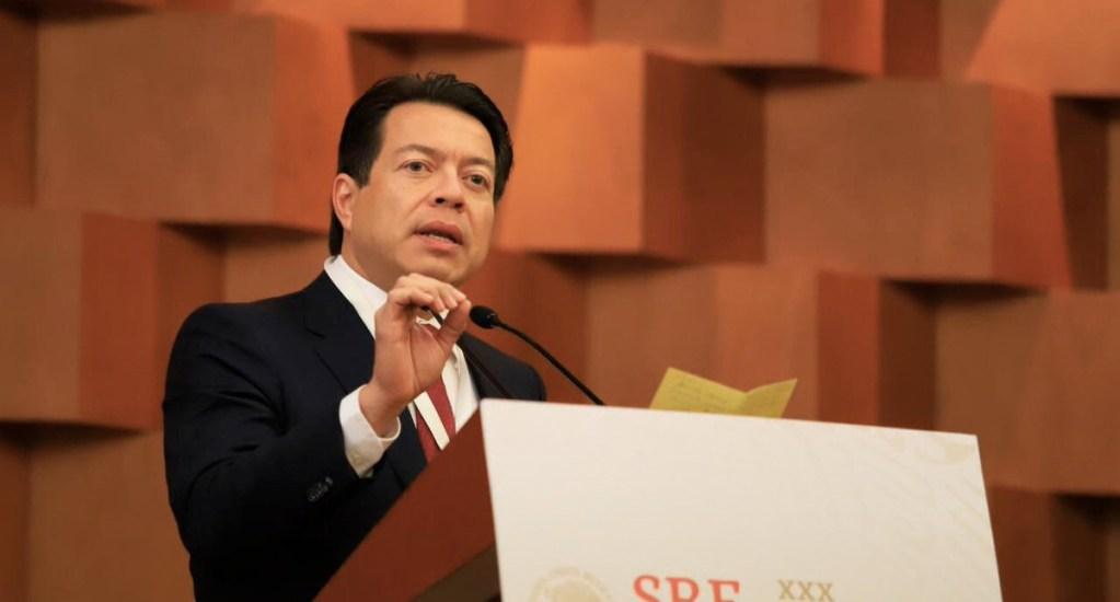 Morena analiza votar sin cambios ley para que robo de combustible sea delito grave - Mario delgado mayoría calificada reformas constitucionales