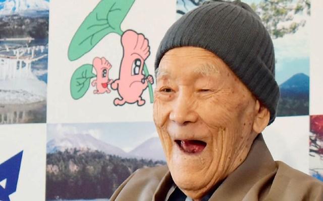 Muere el hombre más viejo del mundo - Masazo Nonaka. Foto de Internet
