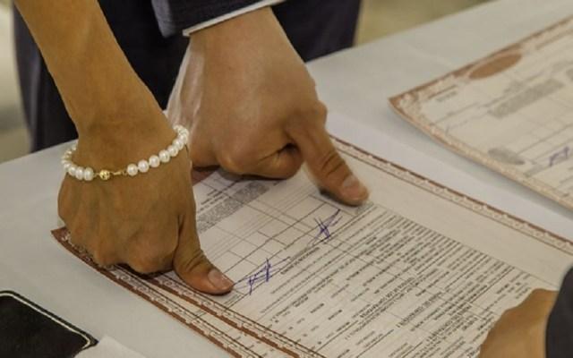 Aumentan los divorcios en México - Matrimonio por el Civil. Foto de Internet